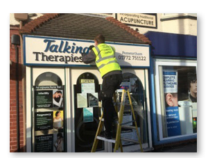Indigo eye signs design create and sign installers lancashire we offer free surveys and free consultation aimed at providing the most cost effective superior shop front design and installation service across reheart Choice Image